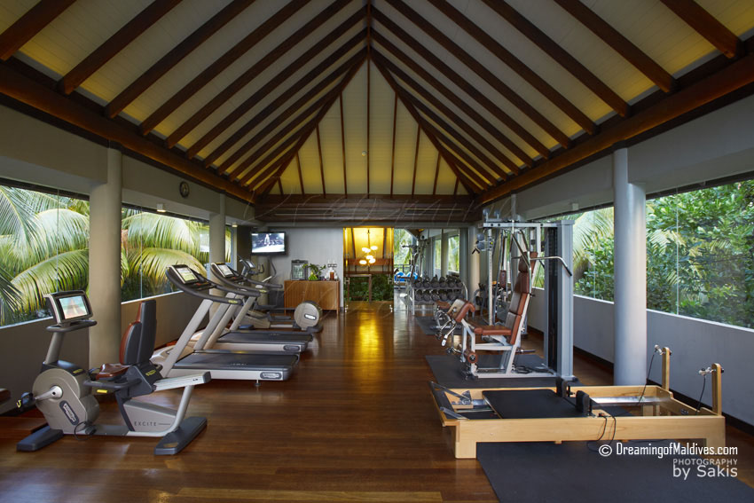 Anantara Kihavah Maldives - Fitness Room