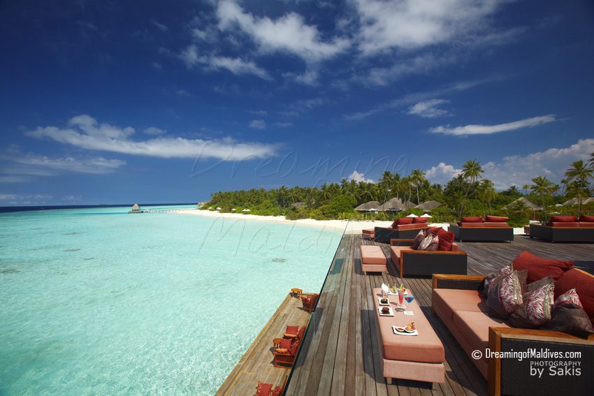 Anantara Kihavah Maldives - Sky, View from the Roof top View 2
