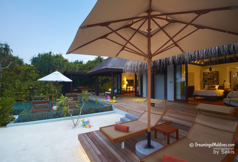 Anantara Kihavah Maldives - Family Beach Pool Villas