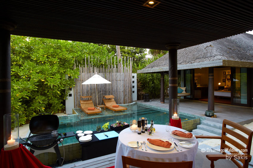 Anantara Kihavah Maldives - Beach Pool Villa