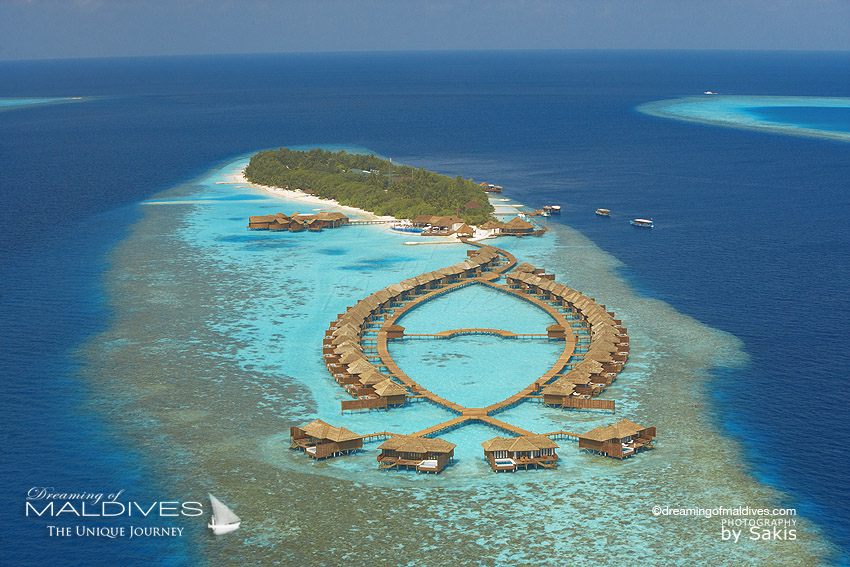 Lily Beach Maldives - aerial view