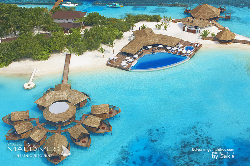 Lily Beach Maldives - Resort - aerial view