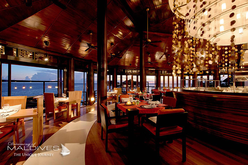 Lily Beach Maldives - all inclusive restaurant