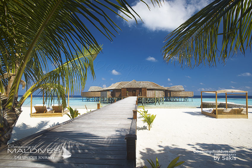 Lily Beach Maldives - the spa