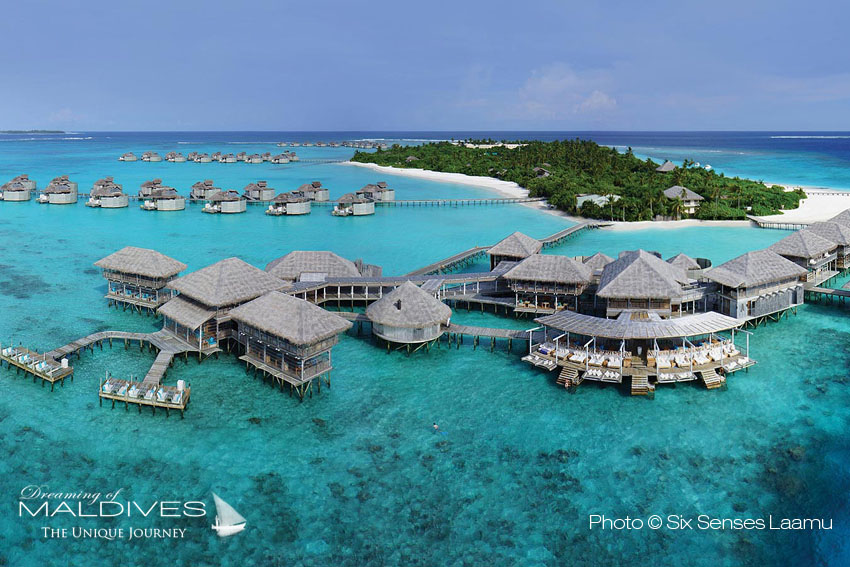 Six Senses Laamu Maldives - Aerial View