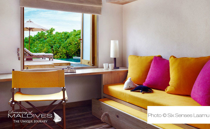 Six Senses Laamu Maldives - Family Villa