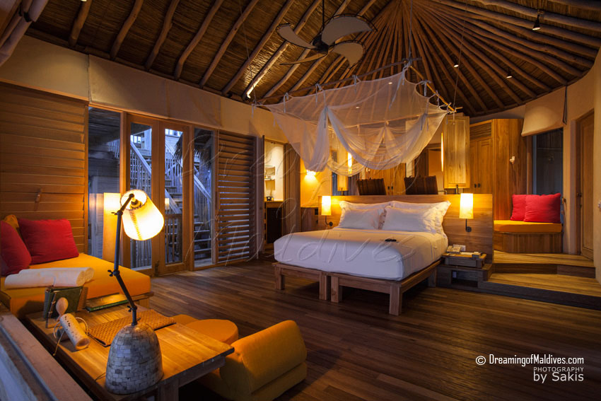 Six Senses Laamu Maldives - Beach Villa Interior