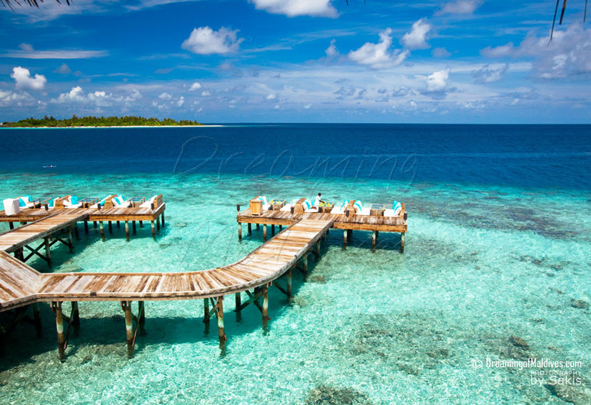 Six Senses Laamu Maldives - Deck-A-Dence Zero-Carbon Restaurant