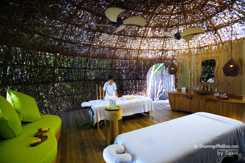 Six Senses Laamu Maldives - The Spa Nest Interior