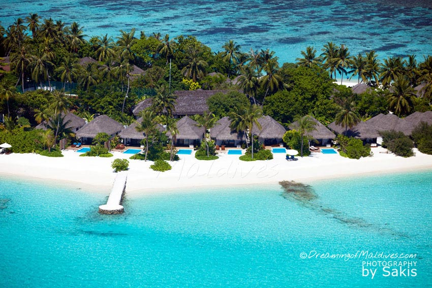 Velassaru Maldives - Beach Villas With Pool Aerial View