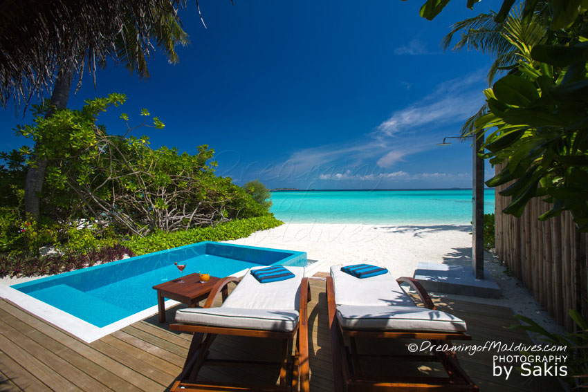 Velassaru Maldives Resort Beach Villa With Pool