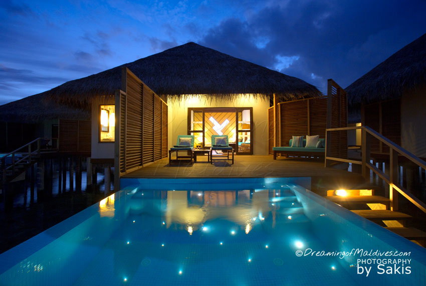 Velassaru Maldives - Ocean Water Bungalow With Pool