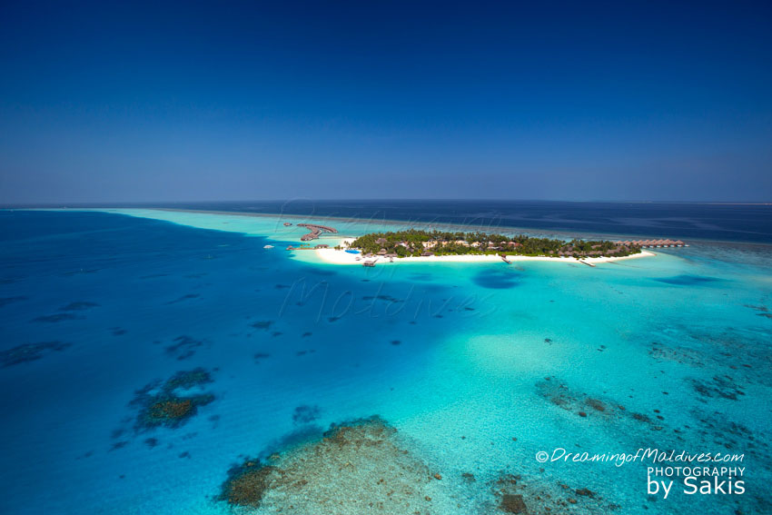 Velassaru Maldives - Resort Aerial View