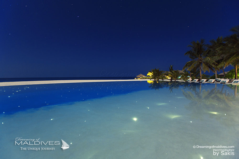 Velassaru Maldives Stargazing by The Pool