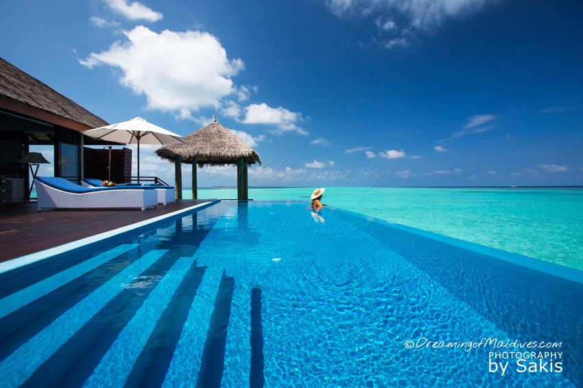 Velassaru Maldives - The Water Suite Infinity Pool and Deck