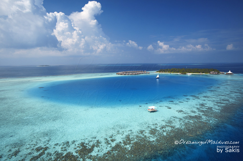 Baros Maldives Resort Aerial Photo