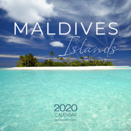 2020 Maldives wall Calendar