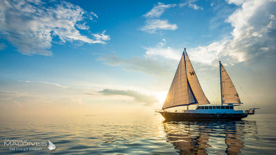 W Maldives Escape Luxury Sailing Boat