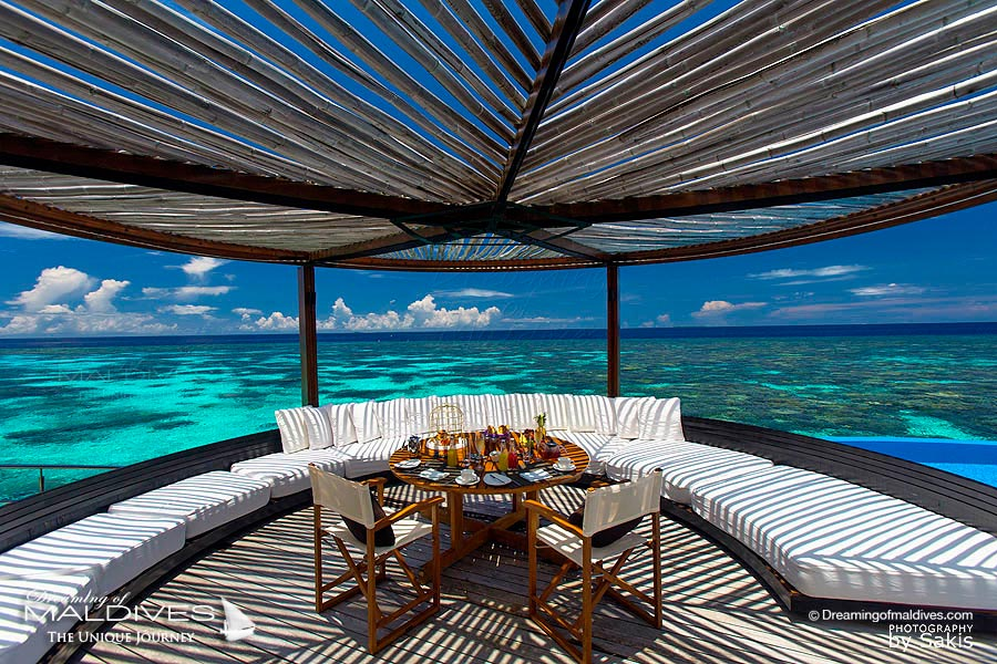 W Maldives Breakfast In-Villa at Extreme WOW Ocean Haven