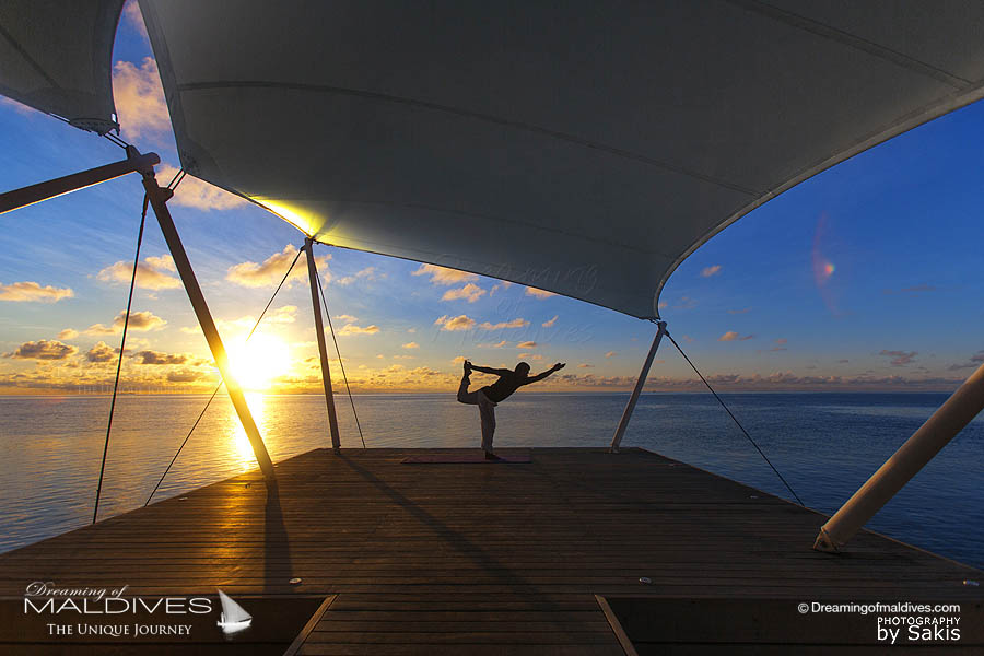 W Maldives Yoga at The Spa
