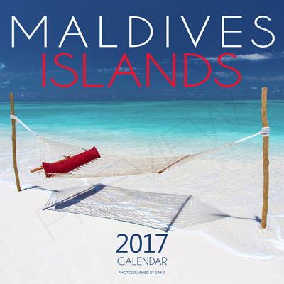 wall calendars islands - maldives islands